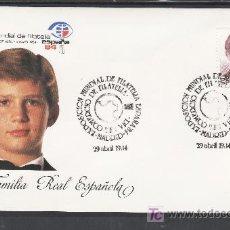 Sellos: 1984 MADRID 29/4 OFICIAL, ESPAÑA 84, EXP. MUNDIAL DE FILATELIA, DIA DEL COMERCIO DE FILATELIA. Lote 23666323