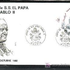 Sellos: 1982 MADRID 31/10 ALFIL, RELIGION, VISITA DE SU SANTIDAD EL PAPA JUAN PABLO II . Lote 32902838