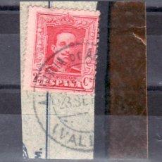Sellos: .MATASELLO FECHADOR TIPO 1882 ALGIMIA DE ALFARA (VALENCIA), ESPAÑA 317A. Lote 16202422
