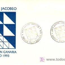 Sellos: AÑO SANTO JACOBEO.GALDAR-GRANCANARIA JULIO 1993.. Lote 25316235