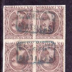 Sellos: .MATASELLO CARTERIA GRUPO II EN AZUL MATILLAS (GUADALAJARA), ESPAÑA 219 EN BLOQUE DE 6 . Lote 21539286