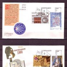 Sellos: ESPAÑA SPD 3069/72 - AÑO 1990 - CENTENARIOS. Lote 18451993