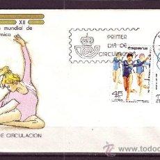 Sellos: ESPAÑA EDIFIL SPD 2811/12 - AÑO 1985 - CAMPEONATO MUNDIAL DE GIMNASIA. Lote 18470856