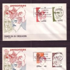 Sellos: ESPAÑA EDIFIL SPD 2853/56 - AÑO 1986 - PERSONAJES. Lote 18471034