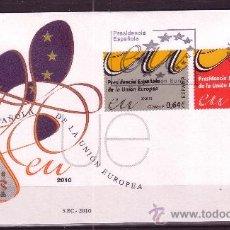Sellos: ESPAÑA SPD 4547/48 - AÑO 2010 - PRESIDENCIA ESPAÑOLA DE LA UNION EUROPEA. Lote 18618656