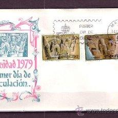 Sellos: ESPAÑA EDIFIL SPD 2550/51 - AÑO 1979 - NAVIDAD - SAN PEDRO EL VIEJO HUESCA. Lote 18754109