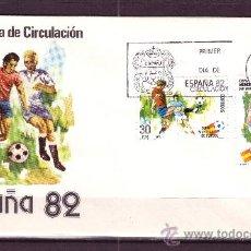 Sellos: ESPAÑA EDIFIL SPD 2613/14 - AÑO 1981 - CAMPEONATO MUNDIAL DE FÚTBOL DE ESPAÑA. Lote 18754207
