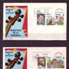 Sellos: ESPAÑA SPD 2697/702 - AÑO 1983 - MAESTROS DE LA ZARZUELA. Lote 18813554