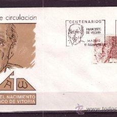 Sellos: ESPAÑA EDIFIL SPD 2883 - AÑO 1987 - 5º CENTENARIO DEL NACIMIENTO DE FRANCISCO DE VITORIA. Lote 18813591