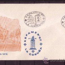 Sellos: LA CORUÑA SPD - AÑO 1987 - ESPAMER 87 - DIA DE LA LITERATURA FILATELICA - 5 DE OCTUBRE . Lote 18814411