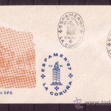 Sellos: LA CORUÑA SPD - AÑO 1987 - ESPAMER 87 - DIA DE ESPAMER - 10 DE OCTUBRE . Lote 18814510