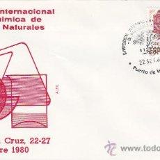 QUIMICA DE PRODUCTOS NATURALES: SIMPOSIUM, PUERTO DE LA CRUZ (CANARIAS) 1980. MATASELLOS SOBRE ALFIL