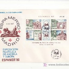 Sellos: MADRID,OCTUBRE 1980. ESPAMER'80 .MATASELLO PROVINCIAL LA CORUÑA. MAS EN RASTRILLOPORTOBELLO. Lote 19200525