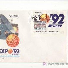 Sellos: EXPO 92.SEVILLA.PRIMER DIA.VEA MAS COLECCIONISMO EN GENERAL EN RASTRILLOPORTOBELLO. Lote 26307622