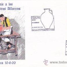 Francobolli: FERIALFAR HOMENAJE A LOS VIEJOS MAESTROS ALFAREROS, SALAMANCA 2000. MATASELLOS EN SOBRE ILUSTRADO.. Lote 19794474