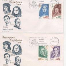 Sellos: PERSONAJES ESPAÑOLES.-1979. Lote 24046967
