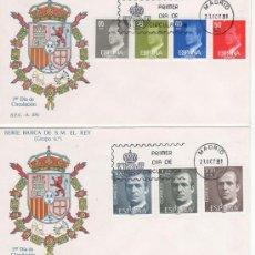 Sellos: S.M. DON JUAN CARLOS I. SERIE BÁSICA-GRUPO 6º.-1981. Lote 24309523