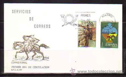 SPD - SERVICIOS DE CORREOS (Sellos - Historia Postal - Sello Español - Sobres Primer Día y Matasellos Especiales)