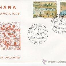 Sellos: SAHARA PINTURAS PRO INFANCIA 1975 (EDIFIL 320/21) EN SOBRE PRIMER DIA DEL SERVICIO FILATELICO. MPM.. Lote 25662595