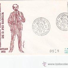 Sellos: PIO BAROJA CENTENARIO NACIMIENTO, SAN SEBASTIAN (GUIPUZCOA) 1972. MATASELLOS SOBRE CIRCULADO ALFIL.. Lote 26264063