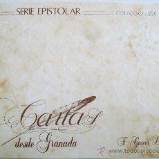 Sellos: SERIE EPISTOLAR COLECCIONABLE-Nº 1 CARTAS DESDE GRANADA FEDERICO GARCIA LORCA. Lote 75230121
