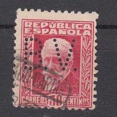 Sellos: ,,PERFORADO B 76 B. V. BANCO DE VIZCAYA, BARCELONA, VALENCIA, . Lote 28419958
