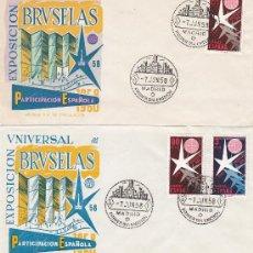 Sellos: RARA VARIEDAD EXPOSICION DE BRUSELAS 1958 (EDIFIL 1220) EN SPD DE DIFUSIONES PANFILATELICAS.. Lote 28462149