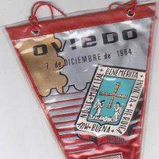 Sellos: ESCUDO DE OVIEDO ASTURIAS 1964 MATASELLOS PROVINCIA PRIMER DIA (EDIFIL 1562) EN BANDERIN RARO. GMPM. Lote 29103406