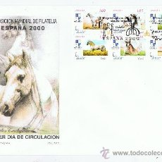 Briefmarken - SPD 2000 caballos cartujanos 2 sobres serie completa - 29255876