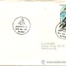 Sellos: SOBRES PRIMER DIA Y MATASELLOS ESPECIALES AMBIENTE 82 23-28 ABRIL 1982 BILBAO . Lote 29525280