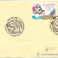 Sellos: SOBRES PRIMER DIA Y MATASELLOS ESPECIALES XIV EXHIBICIO DIADA SANT JORDI- 1987 BARCELONA-C.F.N.. Lote 29525326
