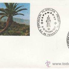 Sellos: EXPOSICION FILATELICA PROVINCIAL.S.C. DE TENERIFE. OCTUBRE 1987 ESPAMER. Lote 30404719