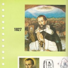 Sellos: DOCUMENTO FILOSSA 74 ELORRIO, CANONIZACION SAN VALENTIN DE BERRIO-OCHOA +. Lote 31061097