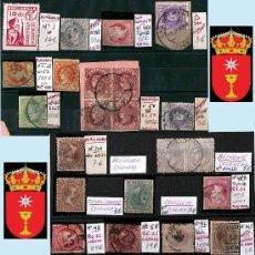 Sellos: CUENCA Y PROV.- HISTORIA POSTAL, MATASELLOS. P.V. 5.384 €. VER CONDICIONES Y 2 FOTOS ADICIONALES.. Lote 31677162
