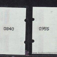Sellos: ETIQUETA ATMS C.1.2 NUEVA KLUSSENDORF, 17 PTS VARIEDAD Nº DEFORMADOS, EXPO 92. Lote 32460479