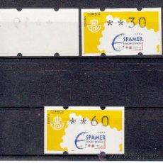 Sellos: ETIQUETA ATMS C.1.7A NUEVA KLUSSENDORF, ESPAMER AVIACION Y ESPACIO. Lote 32455123