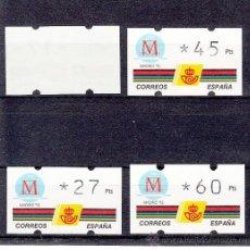 Sellos: ETIQUETA ATMS C.1.5 NUEVA KLUSSENDORF, MADRID, CAPITAL EUROPEA DE LA CULTURA. Lote 32455143