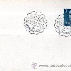 Sellos: TARJETA POSTAL FERIA DE MUESTRAS 1979, EL FERROL DEL CAUDILLO, MATASELLOS EN TARJETA. Lote 32908754