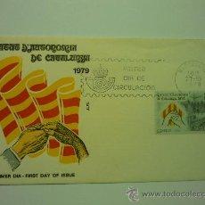 Sellos: SOBRE MATASELLADO 1979 ESTATUT D´AUTONOMIA DE CATALUNYA. Lote 32950863