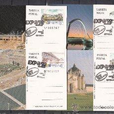 Sellos: ESPAÑA TARJETA OFICIAL Nº 15/8 PRIMER DIA SEVILLA EXPOSICION UNIVERSAL EXPO 92. Lote 56940806