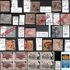 Sellos: SEGOVIA Y PROV.-HIST. POSTAL. MATASELLOS, CARTAS Y E. LOCALES. P.V. 5.692 €.VER 15 FOTOS-CONDICIONES. Lote 31844447