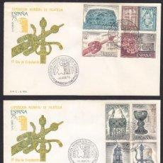 Sellos: SOBRE PRIMER DIA DE CIRCULACION 1975, EXPOSICION MUNDIAL DE FILATELIA ESPAÑA 75, MATASELLO MADRID. Lote 33987198