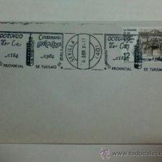 Timbres: SOBRE CON MATASELLOS DE SEVILLA 1984. PATRONATO PROVINCIAL DE TURISMO. OCTAVO CENTENARIO DE GIRALDA. Lote 34301171