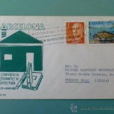 Selos: SOBRE CON MATASELLOS DE GERONA 1978. BARCELONA Y VALENCIA . Lote 34519903
