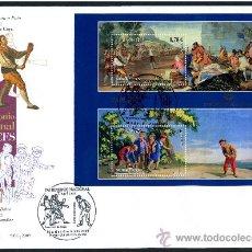 Sellos: SOBRE PRIMER DIA - PATRIMONIO NACIONAL TAPICES, ED. 4495. Lote 34744238