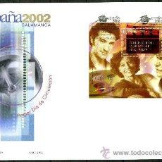 Sellos: SOBRE PRIMER DIA - ESPAÑA 2002 SALAMANCA, ED. 3944/50. Lote 34745653