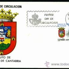 Sellos: SOBRE PRIMER DIA - AUTONOMIA DE CANTABRIA. Lote 36707748