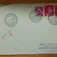 Sellos: SOBRE CON MATASELLOS. RIBADESELLA. 1987. DESCENSO INTERNACIONAL DEL SELLA EN PIRAGUAS.. Lote 37073256