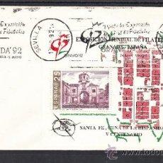 Sellos: 1992 RODILLO 25 SEVILLA, EXPOSICION MUNDIAL DE FILATELIA GRANADA 92 . Lote 37508609