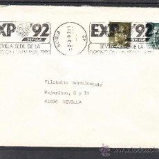 Sellos: 1987 RODILLO 190 SORIA CIRCULADO, EXPO 92, SEVILLA SEDE DE LA EXPOSICION UNIVERSAL 1992. Lote 57578661